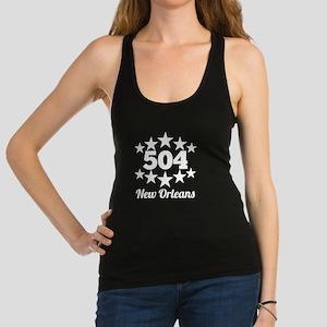 504 New Orleans Racerback Tank Top