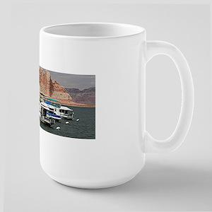Houseboat, Lake Powell, Arizona, USA 3 Mugs