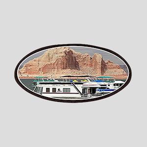Houseboat, Lake Powell, Arizona, USA 3 Patch