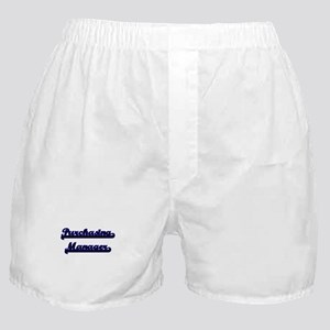 Purchasing Manager Classic Job Design Boxer Shorts