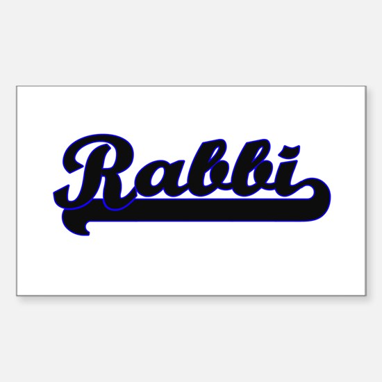 Rabbi Classic Job Design Decal