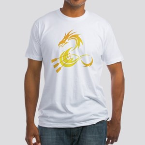 3 paddles Fitted T-Shirt