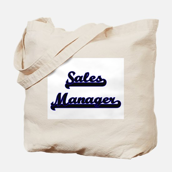 Sales Manager Classic Job Design Tote Bag