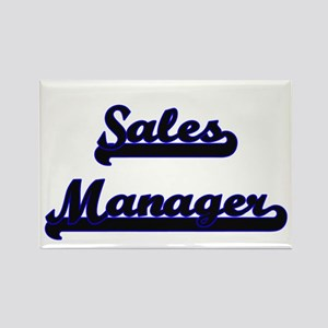 Sales Manager Classic Job Design Magnets