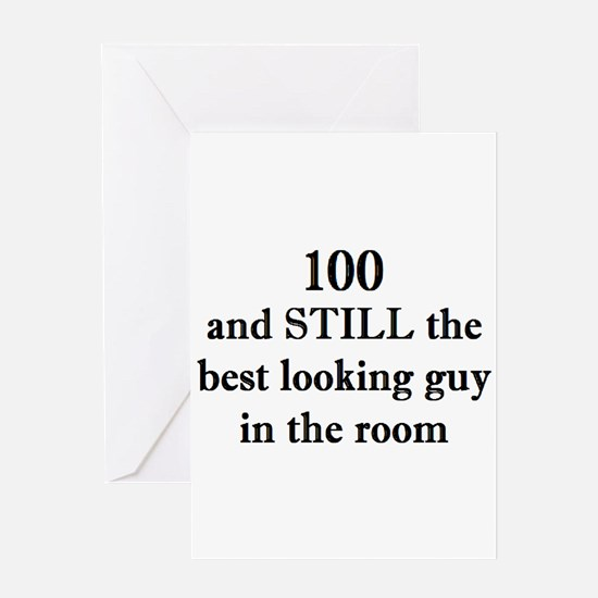 100 still best looking 2 Greeting Cards
