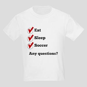 Eat Sleep Soccer Checklist T-Shirt