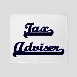 Tax Adviser Classic Job Design Throw Blanket