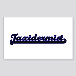 Taxidermist Classic Job Design Sticker