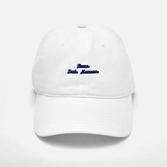 Theme Park Manager Classic Job Design Baseball Baseball Cap