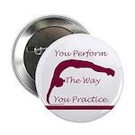 Gymnastics Buttons (100) - Perform