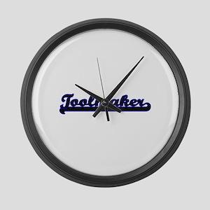 Toolmaker Classic Job Design Large Wall Clock