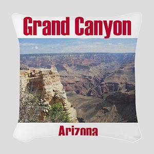 Grand Canyon Woven Throw Pillow