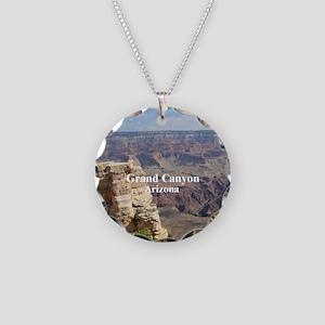 Grand Canyon Necklace Circle Charm