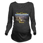 Grand Canyon Long Sleeve Maternity T-Shirt