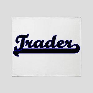 Trader Classic Job Design Throw Blanket