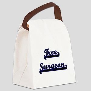 Tree Surgeon Classic Job Design Canvas Lunch Bag