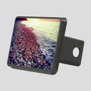 Sunset on the Sound Rectangular Hitch Cover