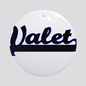 Valet Classic Job Design Ornament (Round)