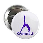 Gymnastics Buttons (10) - Gymnast