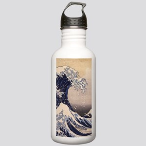 Great Wave by Hokusai, Stainless Water Bottle 1.0L