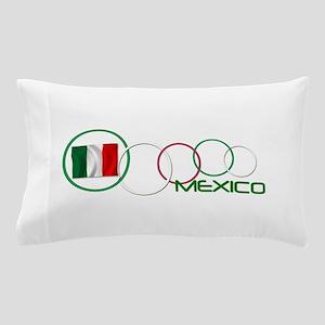 mexico circle-v2 Pillow Case