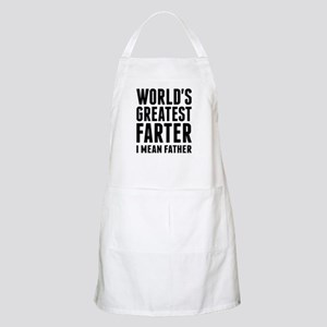 World's Greatest Farter - I Mean Father Apron
