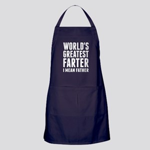 World's Greatest Farter - I Mean Father Apron (dar