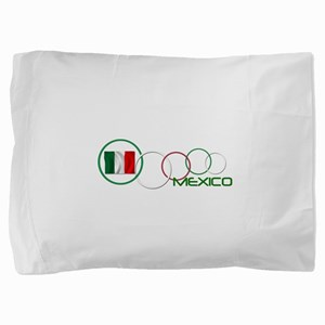 mexico circle-v2 Pillow Sham