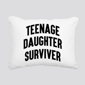 Teenage Daughter Surviver Rectangular Canvas Pillo