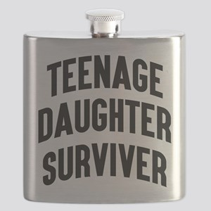 Teenage Daughter Surviver Flask