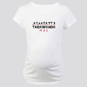 Taekwondo Maternity T-Shirt