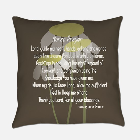 Nurse Prayer Everyday Pillow