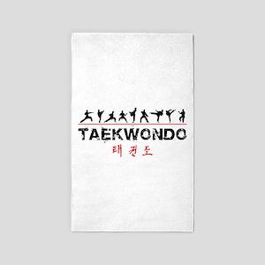 Taekwondo Area Rug