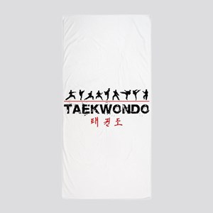 Taekwondo Beach Towel