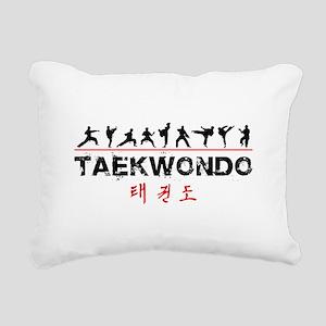 Taekwondo Rectangular Canvas Pillow