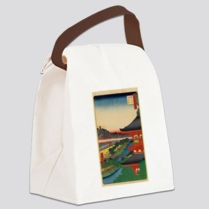 JAPANESE PRINT OF EDO 2 Canvas Lunch Bag