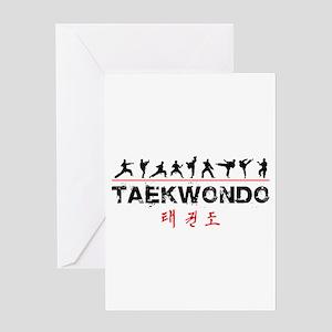 Taekwondo Greeting Cards