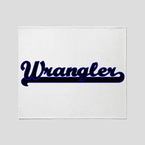 Wrangler Classic Job Design Throw Blanket