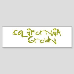 CAL GROWN Bumper Sticker