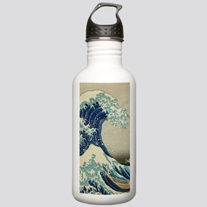 Great Wave by Hokusai Stainless Water Bottle 1.0L