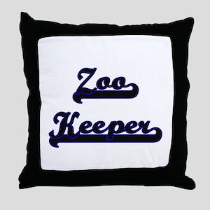Zoo Keeper Classic Job Design Throw Pillow