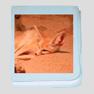 Fennec Fox baby blanket