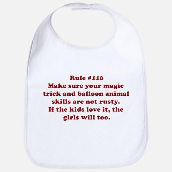 Rule #110 Bib
