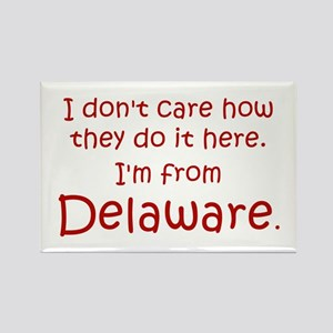 From Delaware Rectangle Magnet