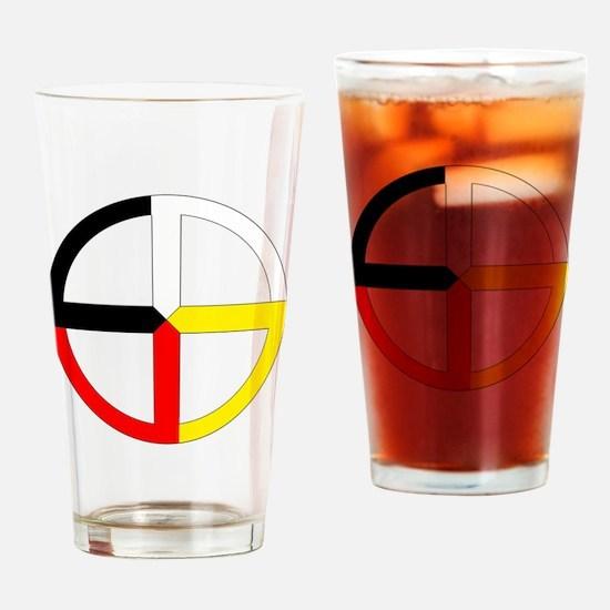Cute Native Drinking Glass