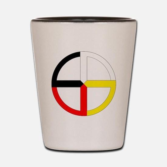 Funny Native Shot Glass
