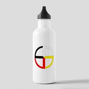 Medicine Wheel Stainless Water Bottle 1.0L