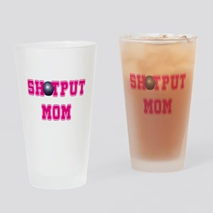Shotput Mom Drinking Glass