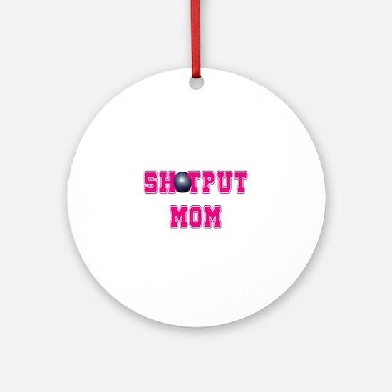 Shotput Mom Ornament (Round)