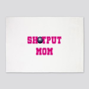 Shotput Mom 5'x7'Area Rug
